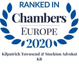 Chambers Europe 2020 - Kilpatrick Townsend