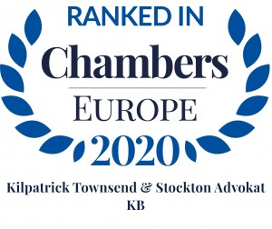 Chambers Europe 2020 Kilpatrick Townsend & Stockton Advokat KB