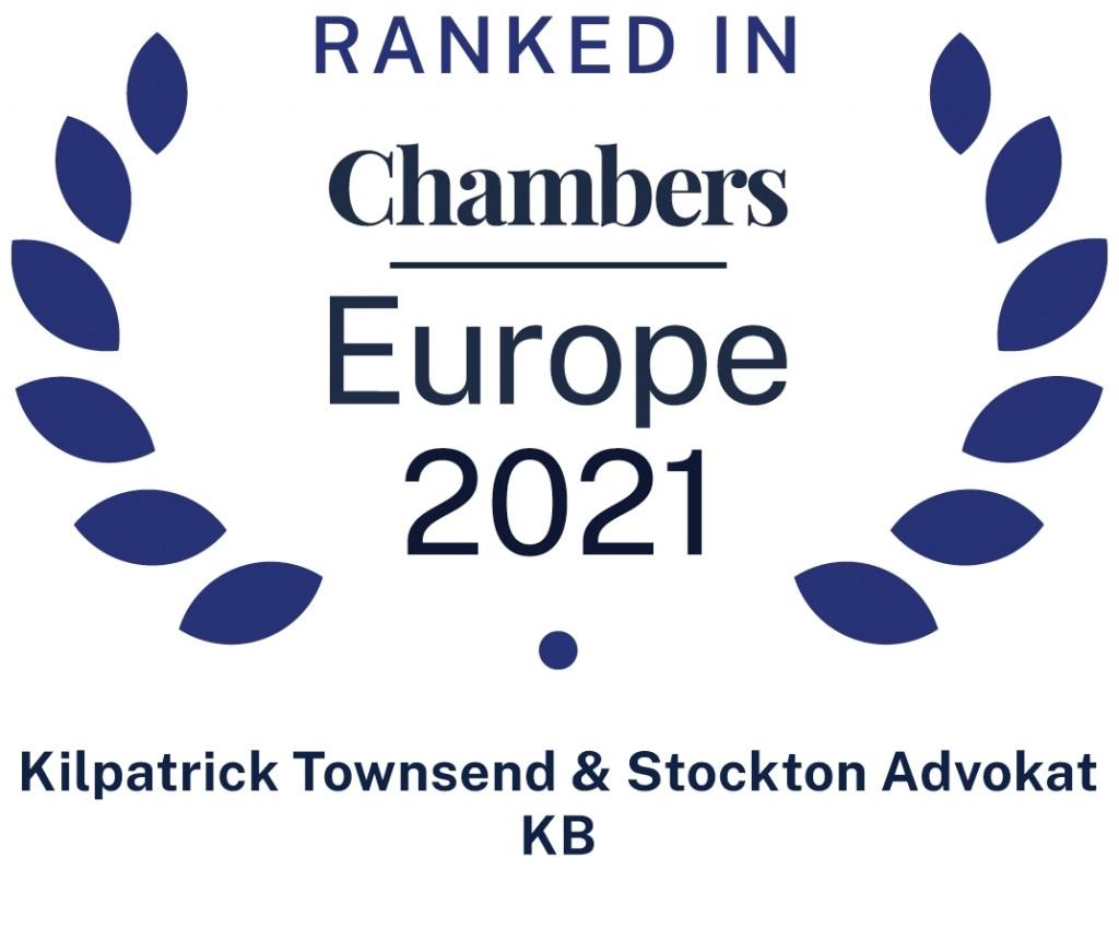 Chambers Europe 2021 Kilpatrick Townsend
