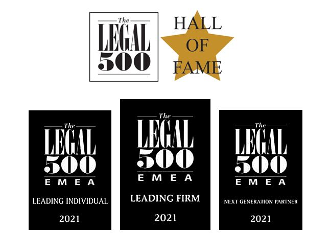 Legal 500 Europe - Kilpatrick Townsend advokatbyrå Stockholm